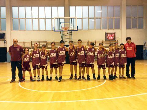 Under13: Prima partita di campionato