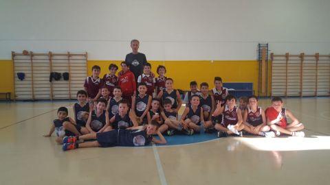 Aquilotti 1° Anno: Eteila Basket Vs Lo.Vi Basket