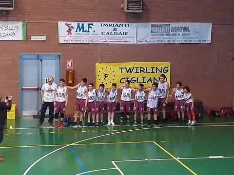 Under 13: Cigliano Basket Vs Lo.Vi Basket