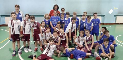 Aquilotti 1° anno: SEA Basket Vs Lo.Vi Basket