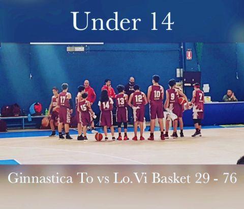 Under 14: LO.VI. BASKET vs GINNASTICA TORINO