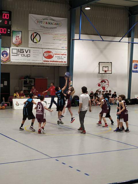 Aquilotti 2° Anno: Lo.Vi Basket Vs A.S.D. Lettera 22