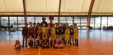 Aquilotti 1° anno: Basket Druento Vs Lo.Vi Basket