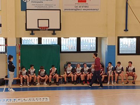 Under 13 (2009/10): Esordio da cardiopalma vs PNC