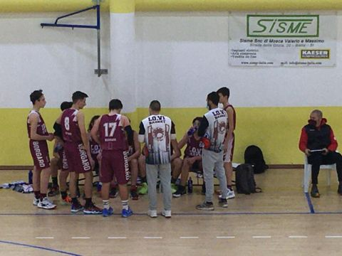 Under 15: Biella Next vs Lo.Vi Basket 73 - 70