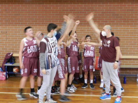 Under 13 (2008): Eridania vs Lo.Vi Basket Borgaro 28 - 64