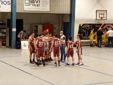 Under 13 (2008): Lo.Vi Basket Borgaro vs Cus Torino: 52 - 38