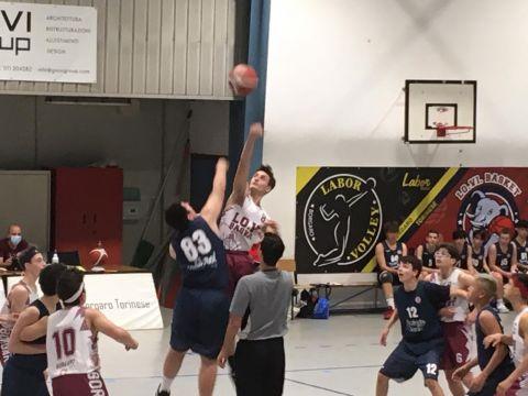 Under 15: Lo.Vi Basket vs Biella Next 65 - 76