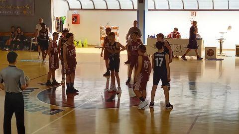 Under 13 (2008): Derthona Basket vs Lo.Vi Basket 60 - 41